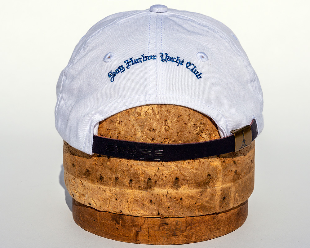 White youth hat back view