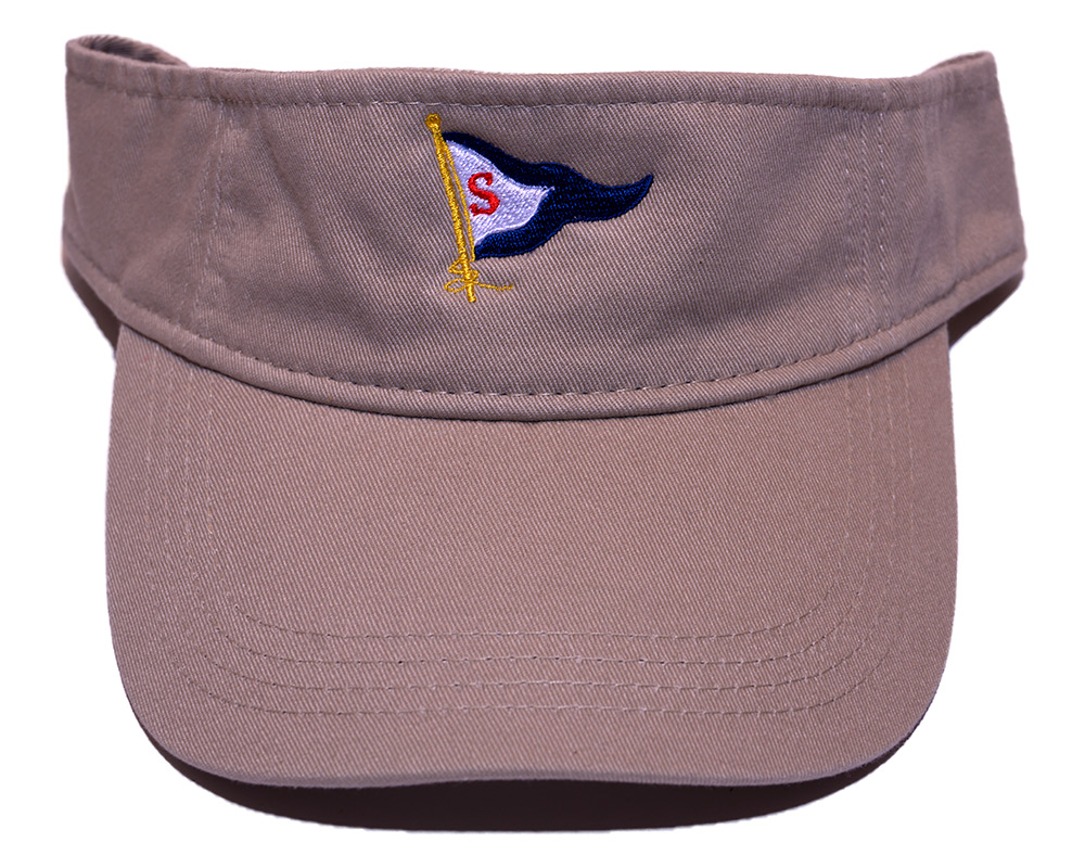 Khaki colored Visor